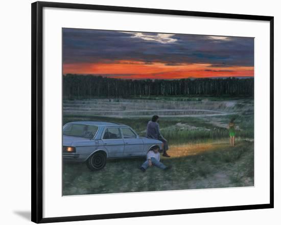 Der tag der grossen hoffnung 2007-Aris Kalaizis-Framed Giclee Print