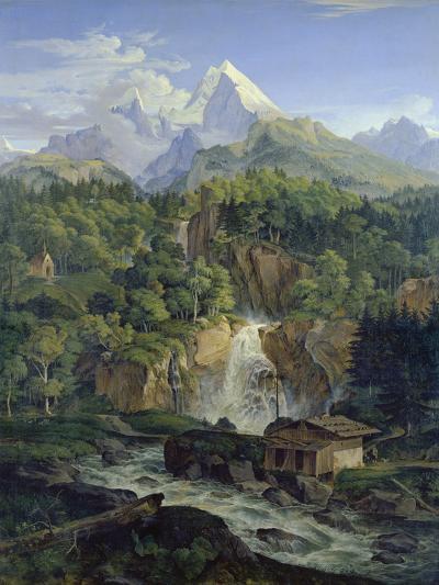 Der Watzmann, 1824-Ludwig Richter-Giclee Print