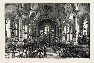 Derby: All Saints' Church, the Interior--Giclee Print