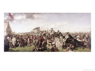 Derby Day-William Powell Frith-Giclee Print