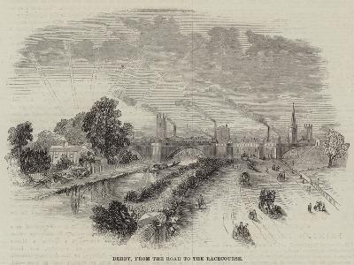 Derby, from the Road to the Racecourse--Giclee Print