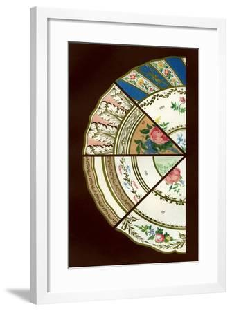 Derby Patterns, 1876- Hall & England-Framed Giclee Print