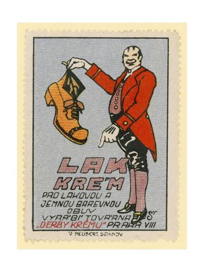 Derby Shoe Polish--Giclee Print