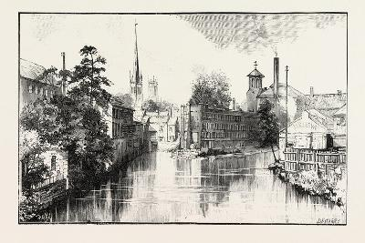 Derby: the Old Silk Mill--Giclee Print