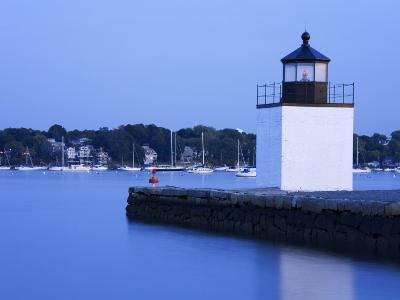Derby Wharf Lighthouse, Salem, Greater Boston Area, Massachusetts, New England, USA-Richard Cummins-Photographic Print