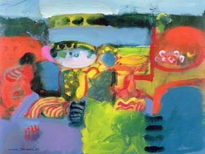 Estuary, 1990 by Derek Balmer