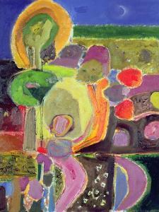 Evening Garden, 2004 by Derek Balmer