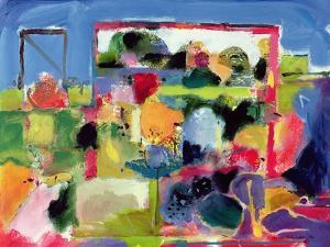 Garden, 1992 by Derek Balmer