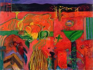 Indian Summer, 1992 by Derek Balmer