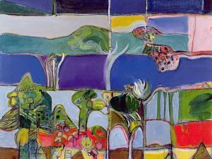 Lake Annecy, 1994 by Derek Balmer