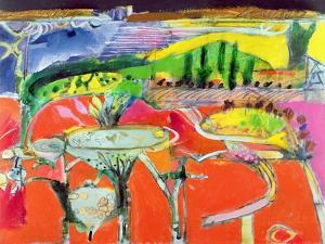 Landscape: Orvieto, 1997 by Derek Balmer