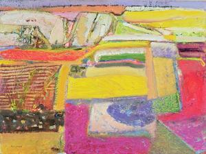 Lavender Farm, 2006 by Derek Balmer