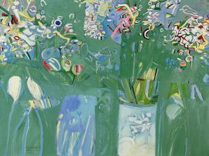 Wild Flowers, 1979 by Derek Balmer