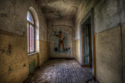 Derelict Room-Nathan Wright-Photographic Print