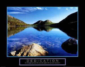 Dedication: Jordan Pond by Dermot Conlan