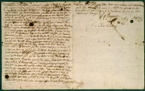 Dernière lettre de Marie-Antoinette adressée à madame Elisabeth, 16 octobre 1793