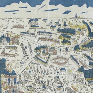 Déroulement de la bataille de Mont Saint Jean