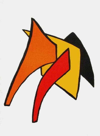 Derrier le Mirroir, no. 141: Stabiles VI-Alexander Calder-Collectable Print