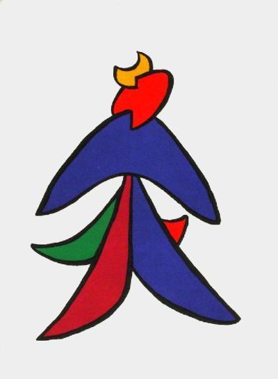 Derrier le Mirroir, no. 141: Stabiles VII-Alexander Calder-Collectable Print