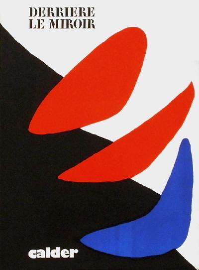 Derrier le Mirroir, no. 190: Composition I-Alexander Calder-Collectable Print