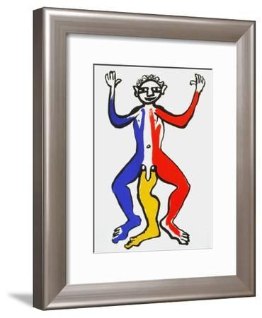 Derrier le Mirroir, no. 212: Critter II-Alexander Calder-Framed Collectable Print