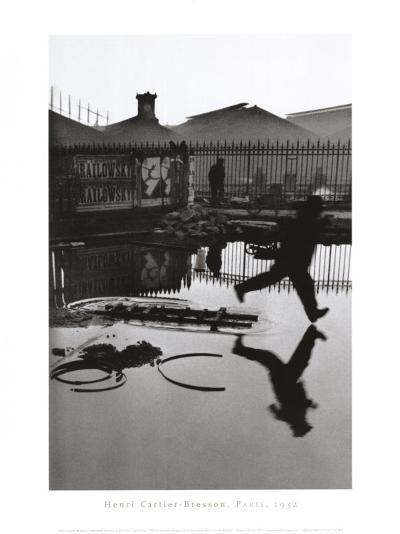 Derriere la Gare Saint-Lazare, Paris-Henri Cartier-Bresson-Art Print