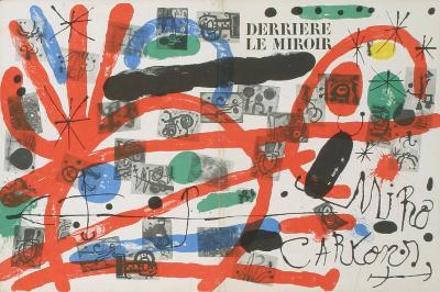 Derriere Le Miroir, no. 151-152 Cover-Joan Miro-Serigraph