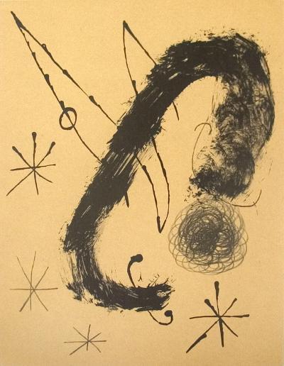 Derriere le Miroir, no. 151-152, pg 20-Joan Mir?-Collectable Print