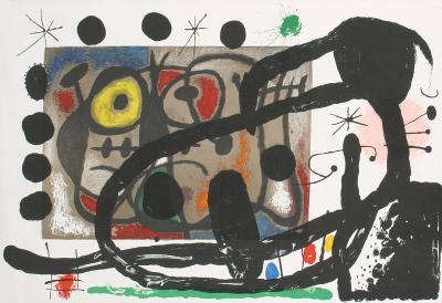 Derriere le Miroir, no. 151-152-Joan Mir?-Collectable Print