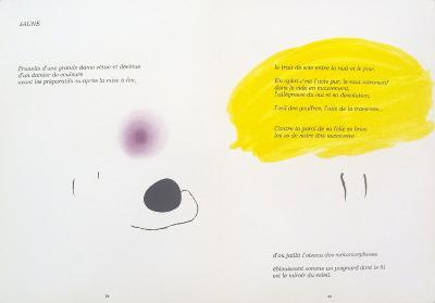 Derriere le Miroir, no. 193-194, pg 24,25-Joan Mir?-Collectable Print