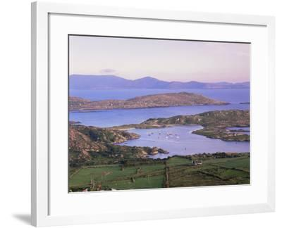 Derrynane Bay at Sunset, Ring of Kerry, County Kerry, Munster, Republic of Ireland, Europe-Patrick Dieudonne-Framed Photographic Print