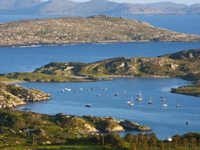 Derrynane Bay, Iveragh Peninsula, Ring of Kerry, Co, Kerry, Ireland-Doug Pearson-Photographic Print
