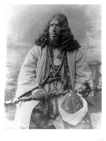 Dervish African Man in Sudan Photograph - Sudan-Lantern Press-Art Print