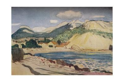 'Bay in the South of France', 1931