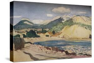 'Bay in the South of France', 1931 by Derwent Lees