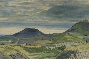 Landscape at Collioure by Derwent Lees