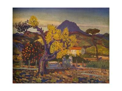'Pear Tree in Blossom', 1913 (1932)