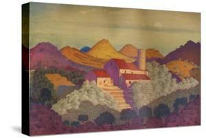 'Sunset near Colliure', c20th century by Derwent Lees