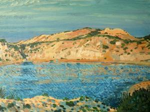 The Blue Pool, 1911 by Derwent Lees