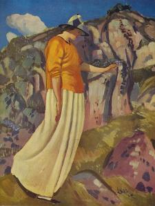 'The Yellow Skirt', 1914 by Derwent Lees