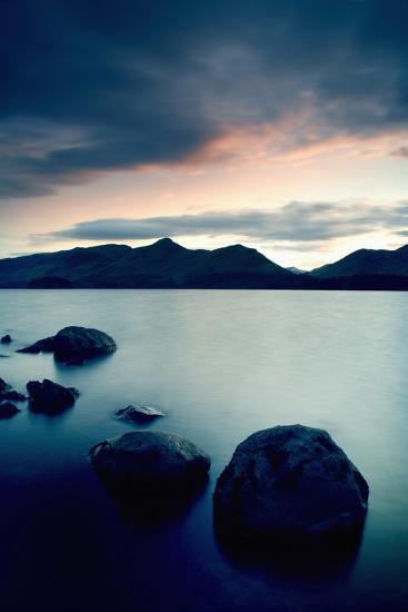 Derwent Water with Catbells at Sunset-Design Pics Inc-Photographic Print