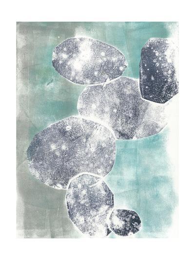 Descending Orbs I-Jennifer Goldberger-Art Print