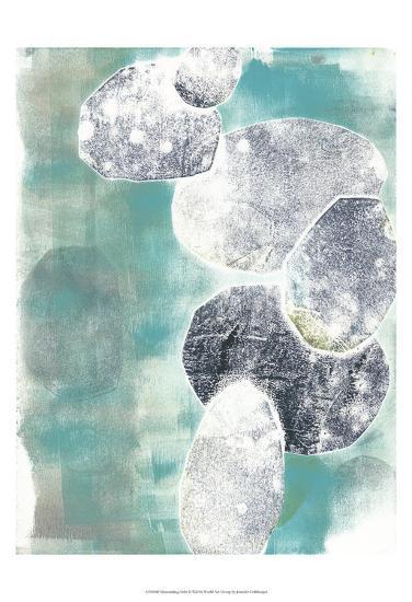 Descending Orbs II-Jennifer Goldberger-Art Print