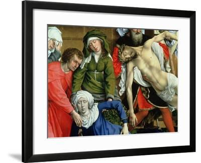 Descent from the Cross, 1435-Rogier van der Weyden-Framed Giclee Print
