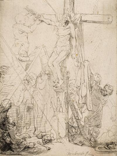 Descent from the Cross: a Sketch, 1642--Giclee Print