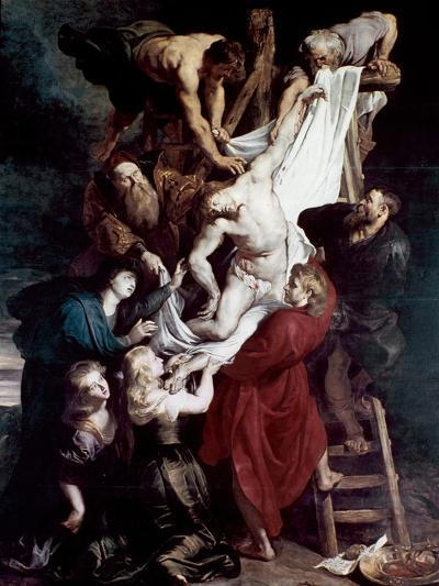 Descent from the Cross, C1612-1614-Peter Paul Rubens-Giclee Print