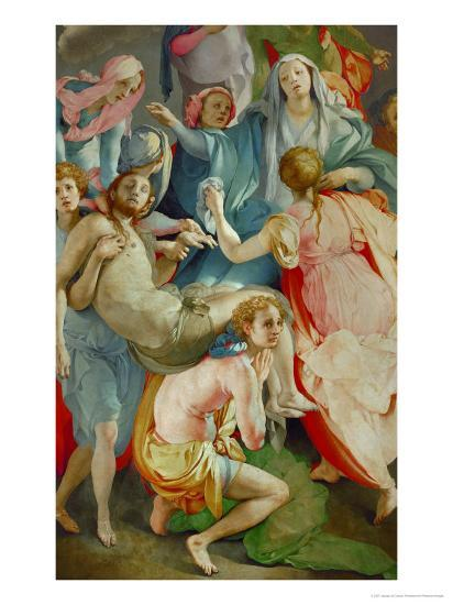 pontormo descent from the cross