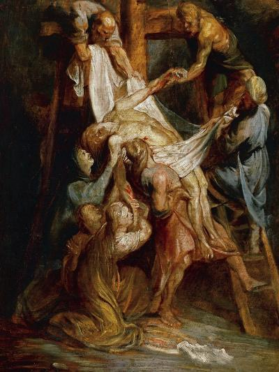 Descent from the Cross-Peter Paul Rubens-Giclee Print