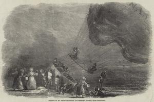 Descent of Mr Green's Balloon, on Pirbright Common, Near Guildford