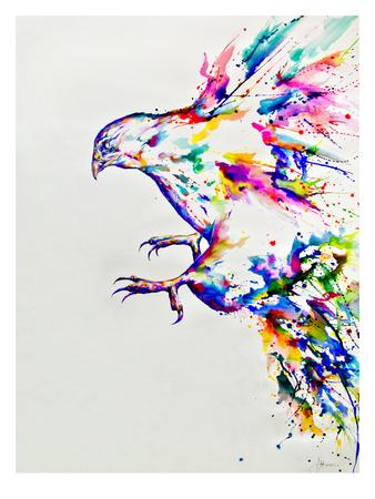 Descent-Marc Allante-Art Print